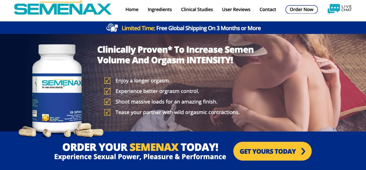 semenax website